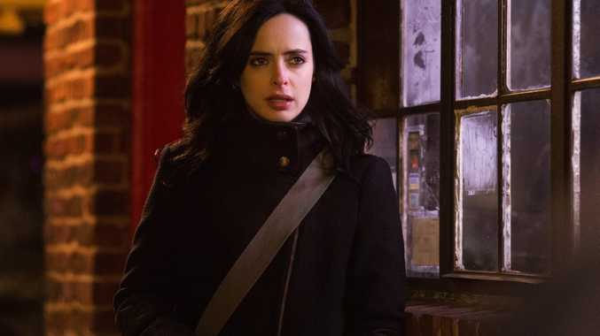 Krysten Ritter in a scene from the TV series Marvel's Jessica Jones. Supplied by Netflix Australia. Please credit photo to MYLES ARONOWITZ/NETFLIX.