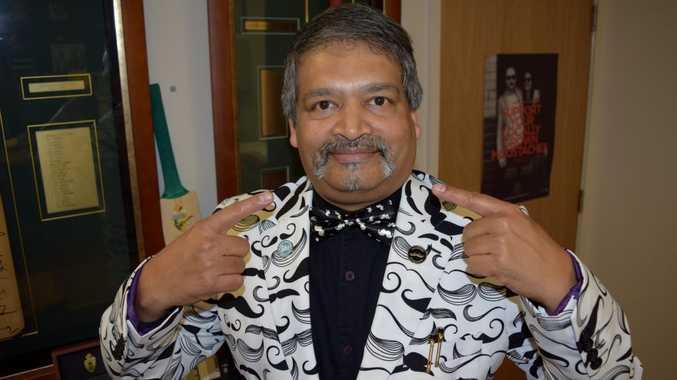 Dr Sanjeev Bandi top fundraiser in Australia in Movember.