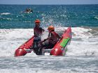 Alexandra Headland has become Thundercats central this weekend as thrill-seeking pilots and co-pilots go head-to-head for a shot at the Queensland Thundercat Surf Cross Series title.