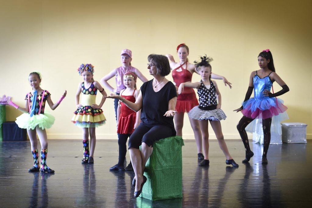 Ballet teacher, Dale Coles