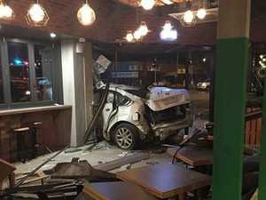 Witness recalls the moment when a car smashed into Zambrero