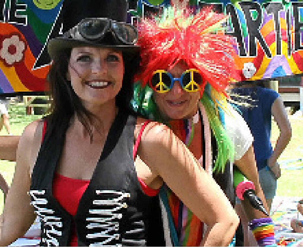 Trudi Fitzgerald and Shorty Brown of Kidz Klub Australia.