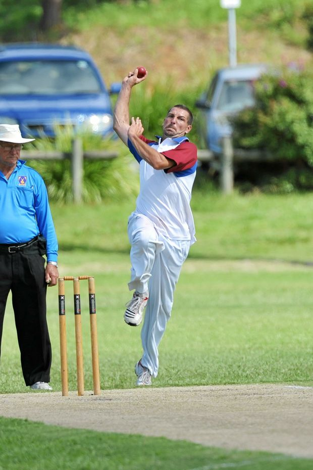 Trevor Bailey smashed through Colts top order to set up the win for Diggers.