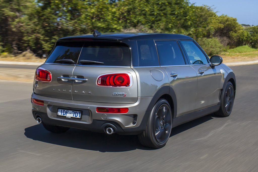 The 2016 Mini Clubman.
