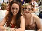 Pittsworth State High School formal 2015 Ellen Rose and Petronette Ferrieira.
