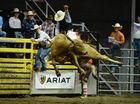 Sam Mason riding at Top Guns final. Photo Allan Reinikka / The Morning Bulletin