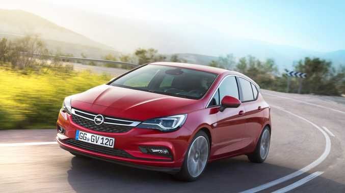Opel Astra. Photo: Contributed