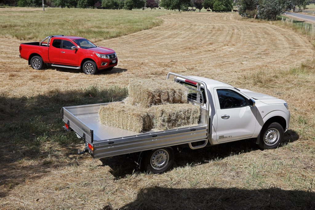 WORK MATES: The Single Cab and King Cab utes from Nissan's Navara NP300 range are available in a range of specs, 2WD or 4WD and with either petrol or diesel engines.