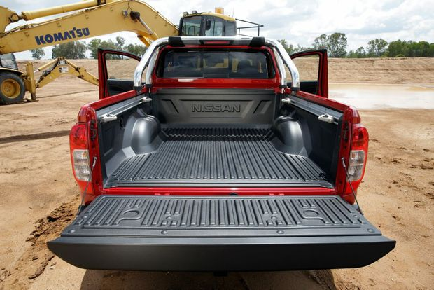 The Nissan Navara King Cab ute in $48,990 ST-X spec.