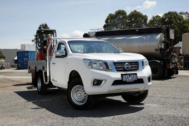 A Nissan Navara went missing in Gladstone last night. Photo: Contributed
