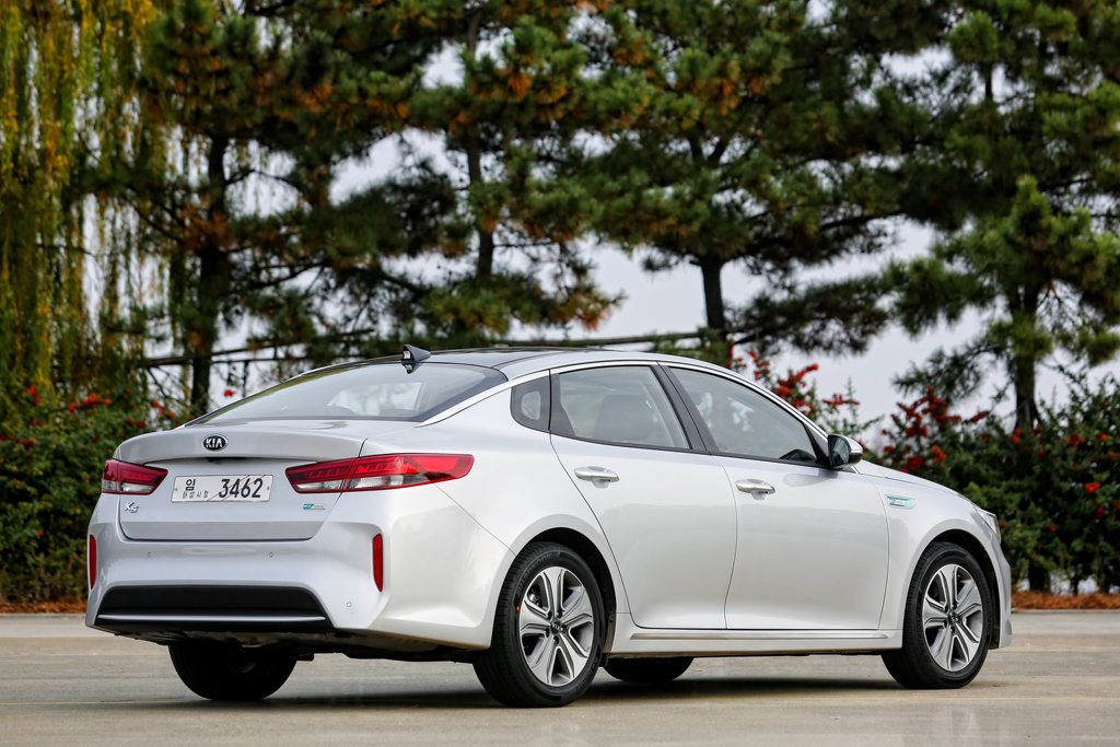 Kia Optima Plug-In Hybrid. Photo: Contributed