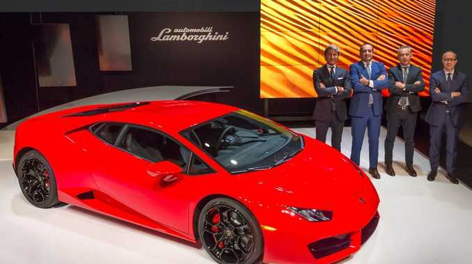 WRAPS OFF: Lambo's two-wheel-drive Huracán LP 580-2 is revealed in Australia with a price tag of $380,000