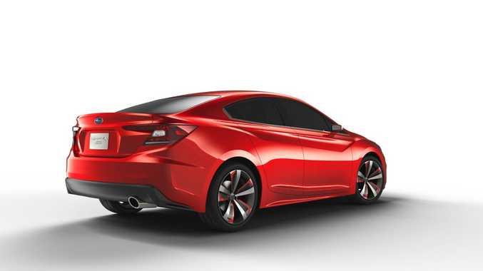 Subaru Impreza Concept. Photo: Contributed