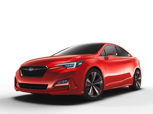 Subaru's new concept Impreza sedan revealed