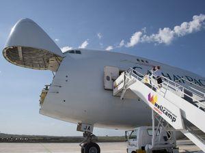 International flight lands at Wellcamp