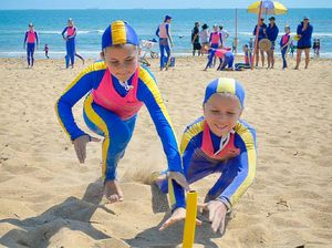 Good friends, great rivalry in Tannum Sands nippers