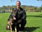 This pooch Fitz right into Queensland Police Dog Calendar