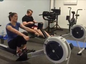 WATCH: Journos pushed to their limits in fitness challenge