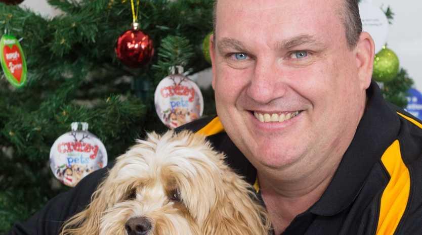 Jeff Hickson, Store Manager of Petbarn Rockhampton