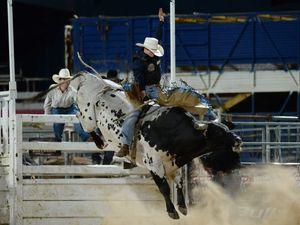 Bull rider books his spot in Warwick PBR