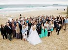 Lovers tie the knot around the Sunshine Coast