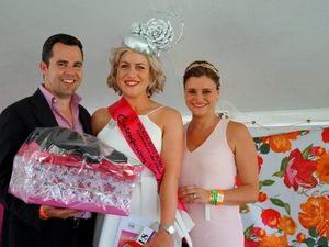 Roz turns heads at Roma Cup Fashions on the Field