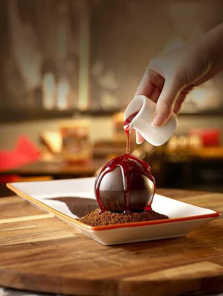 San Churro's Melting Chocolate Bomba Photo Contributed