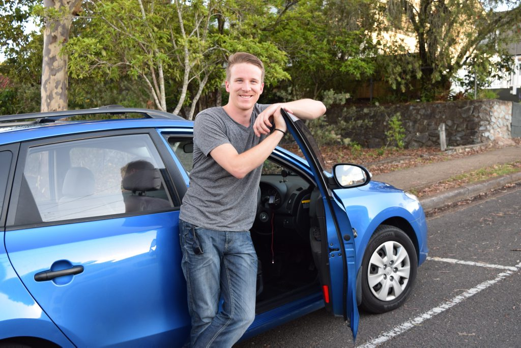 Nambour resident and Uber driver-partner Marne Prinsloo Photo Nicky Moffat / Sunshine Coast Daily