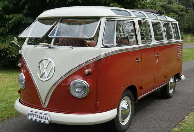 1960 VW split-screen Kombi Samba Bus. Photo: Contributed.