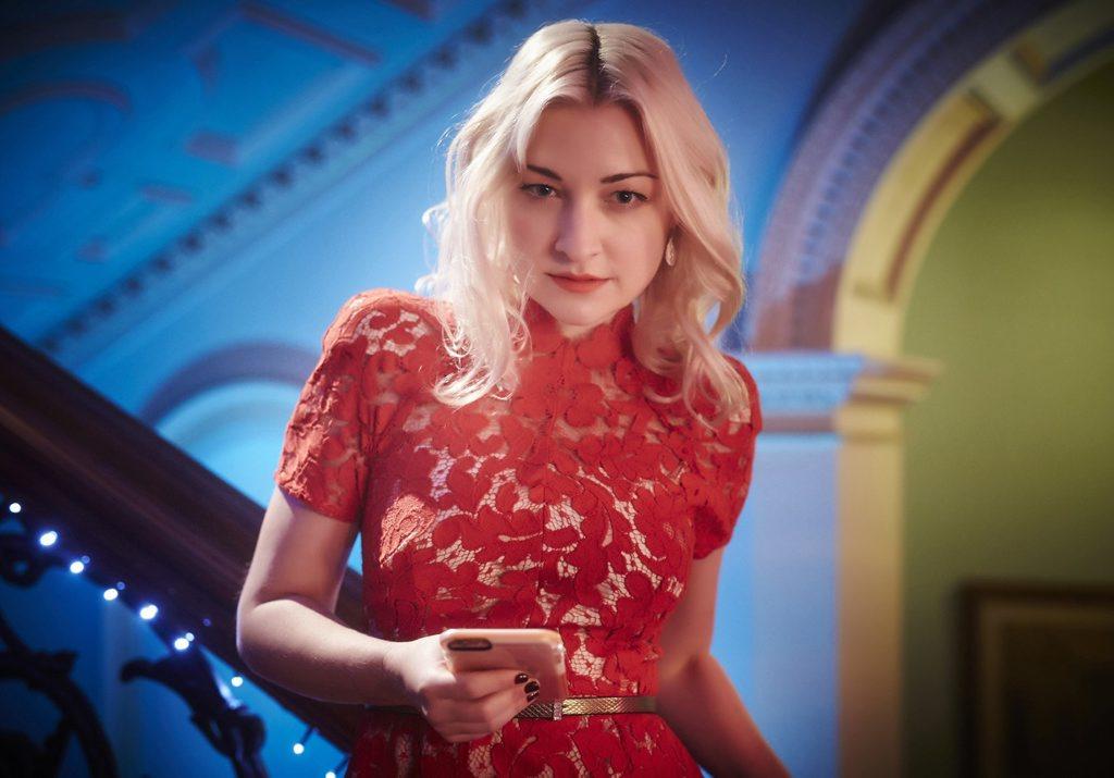 Kate Miller-Heidke in a scene from The Divorce.