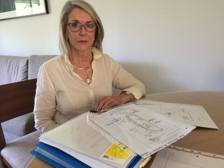 Coolum Palmer Resort villa part-owner Maree Frecklington is determined to remain at her property despite apparent efforts by management to make life very uncomfortable.