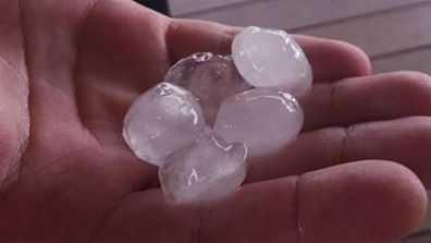 Hail at East Lismore