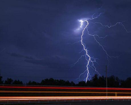 Lightning at Ballina.
