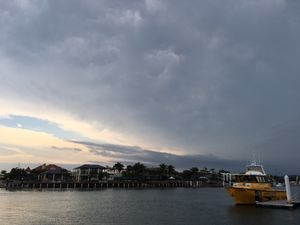 Dangerous storms rumble through south-east Queensland