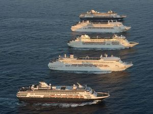 Five-ships spectacular a milestone for cruising in Sydney