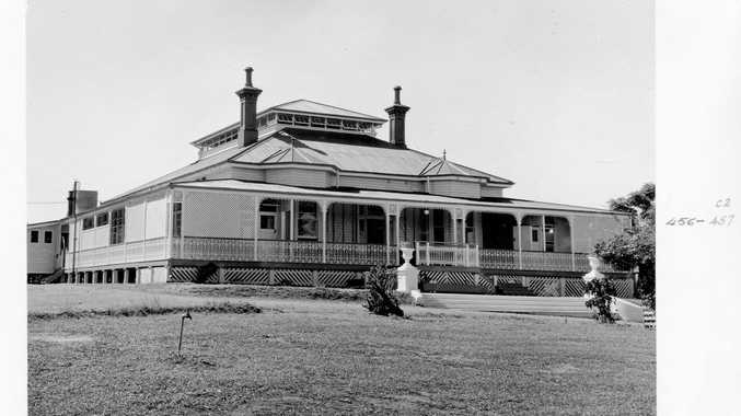 Immigration Hostel, Rockhampton, 1952, from the Queensland State Archives
