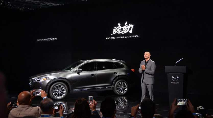 MAZDA CX-9: Seven-seat SUV one of the stars at Los Angeles