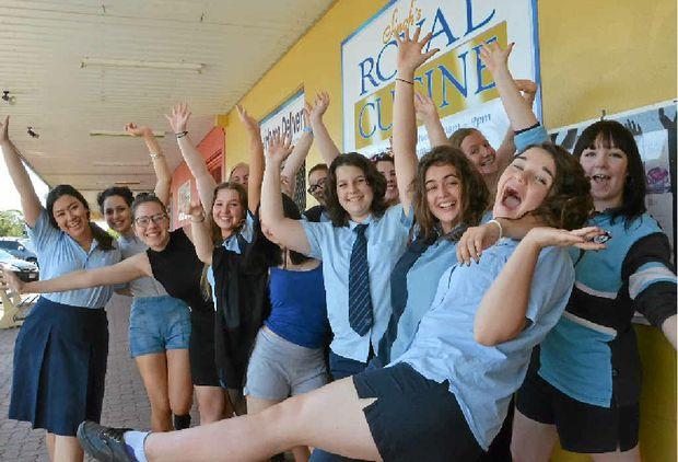 LAST GOODBYE: Year 12 students across South Burnett had their last day of school on Friday.