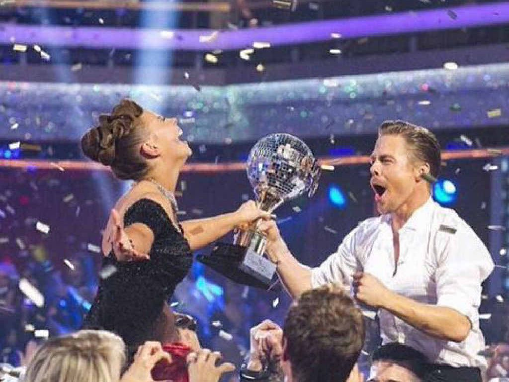Bindi Irwin is crowned winner of the US version of Dancing With The Stars.