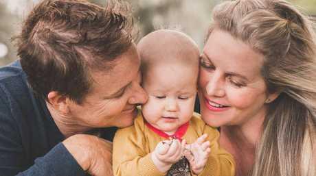 FAMILY VENTURE: Kim Carroll, Chalcot, and Heidi Meyer. PHOTO: REBECCA COLEFAX PHOTOGRAPHY