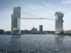 Copenhagen to build 65 metre high pedestrian bridge