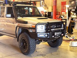 How Gleno's LandCruiser became its own evil twin