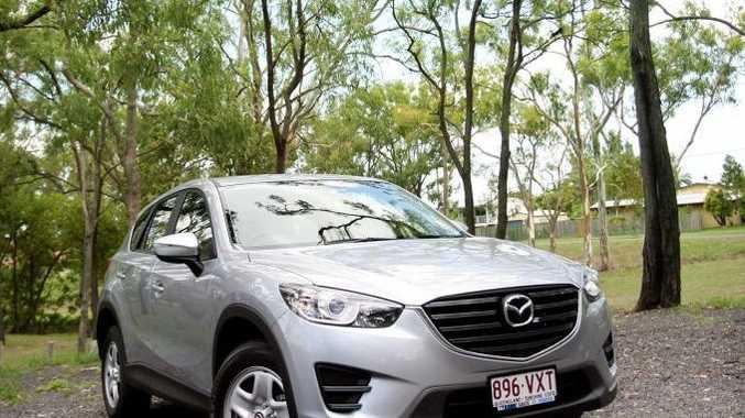 Introducing the all new Mazda CX-5, exclusive to B & J Car Sales. Photo Tamara MacKenzie / The Morning Bulletin