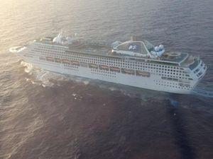 Cruise ship Sea Princess in emergency evacuation drama