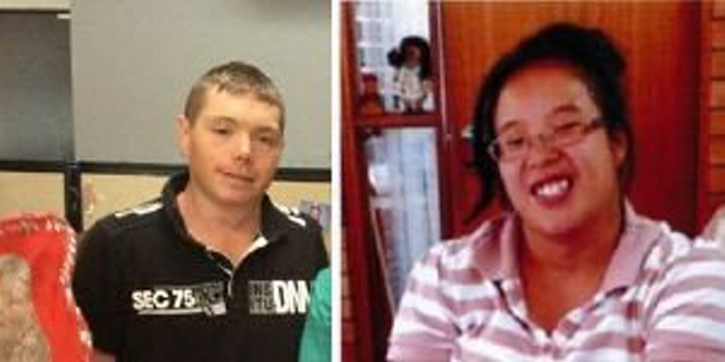 Lee Powell and Kathleen Hockey were last seen in Nanango about 5pm on Sunday.