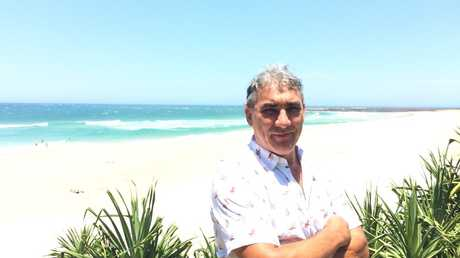 Owner of Dunes at Shelley Beach Dave Loosemore has lost more than $60,000 in summer bookings over fear of shark attacks Photo: Hamish Broome / The Northern Star