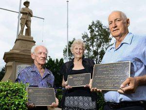 Fresh look at memorial site as Bundamba honours men