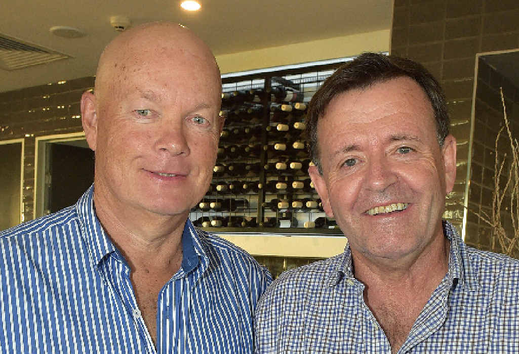 Hotel part-owners Stephen Atkinson and Bruce McDiarmid.