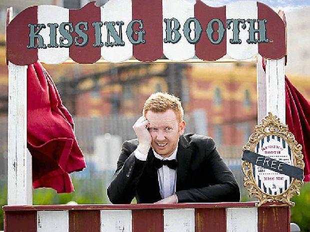 Luke McGregor in a scene from his new show Luke Warm Sex.