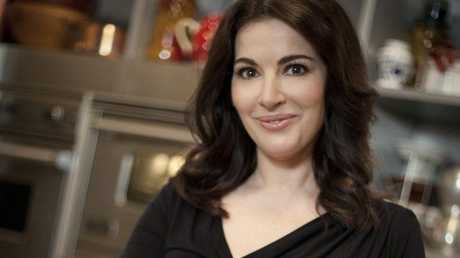 Nigella Lawson in a scene from the TV series Nigellissima.